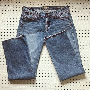 Lucky Brand Classic Rider Jeans Dark Wash, Size 10
